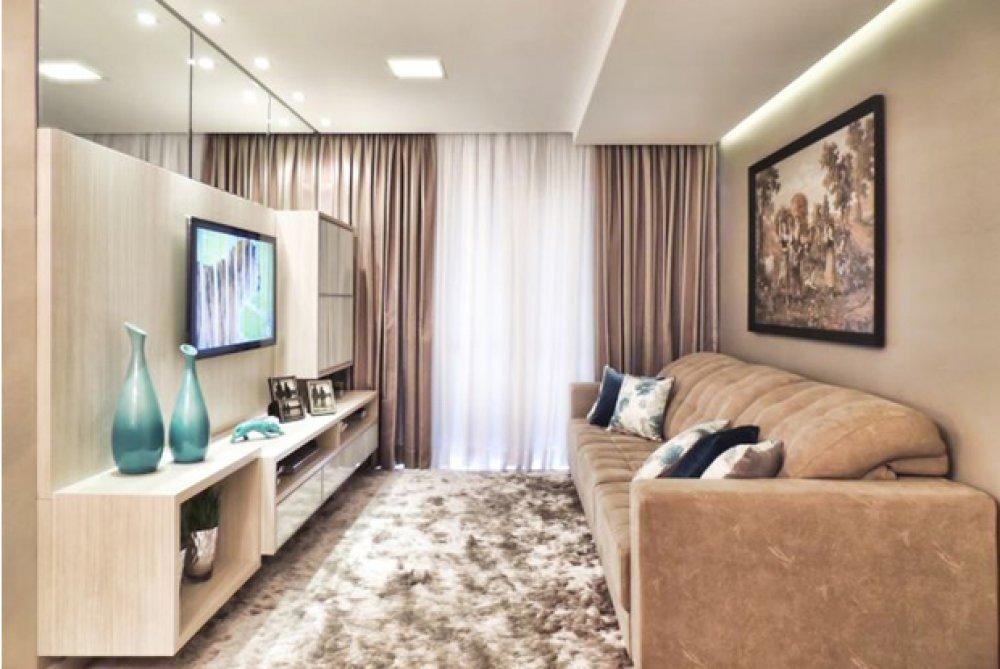 5 mandamentos para decorar sala pequena for Sala new york