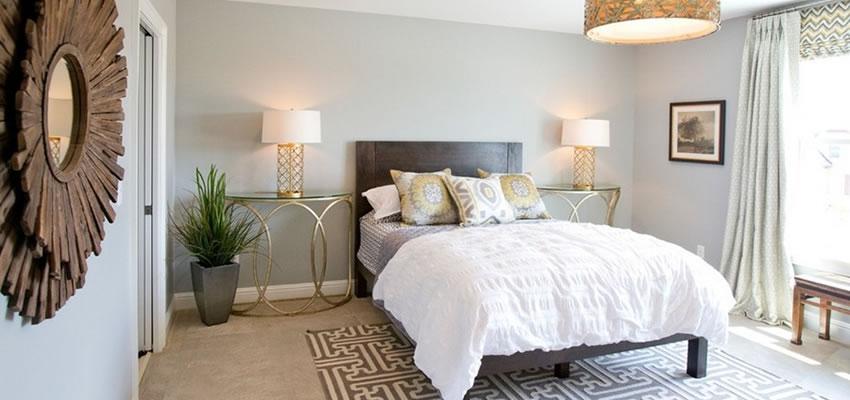 15 quartos de casal pequenos e aconchegantes Jonck  ~ Quarto Simples E Bem Organizado