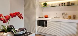 As cores mais usadas nas cozinhas pequenas