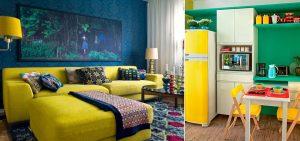 15 salas coloridas para você se inspirar